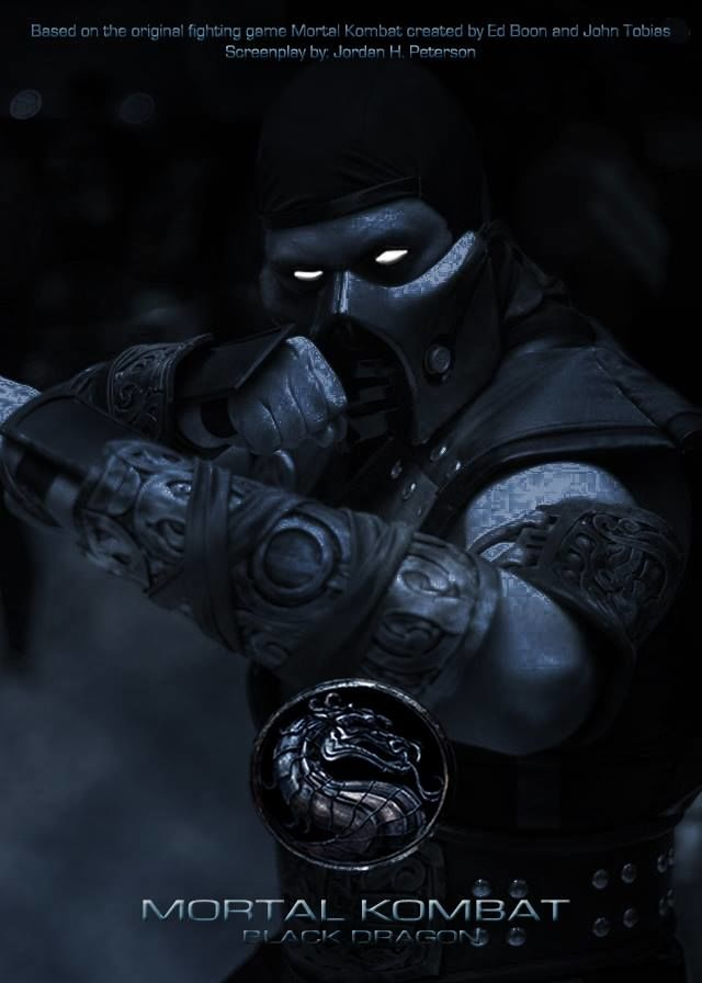MORTAL KOMBAT BLACK DRAGON