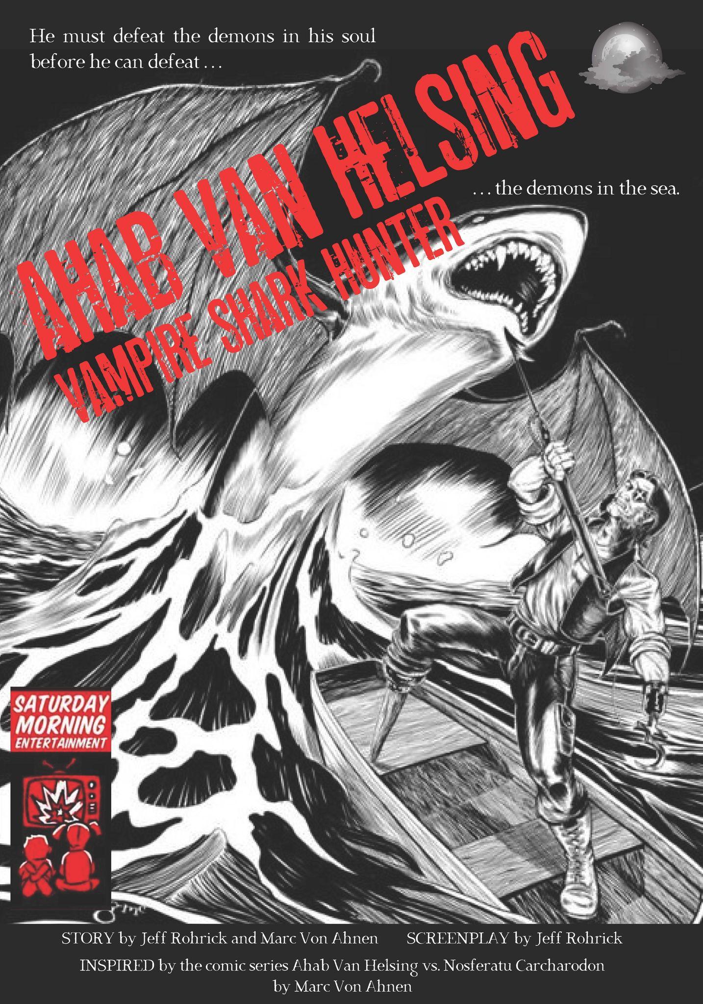 AHAB VAN HELSING, VAMPIRE SHARK HUNTER